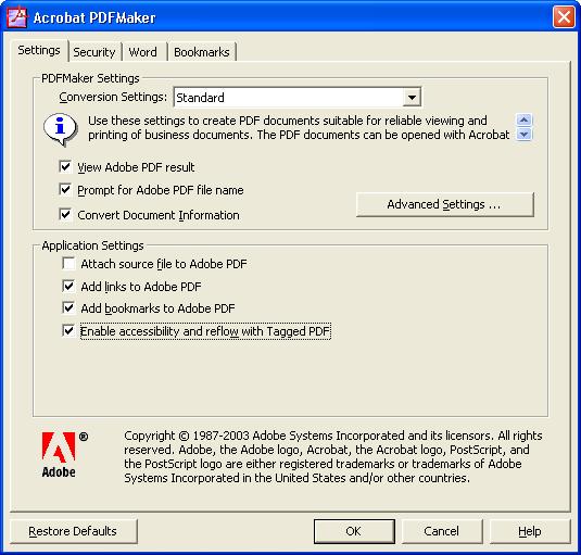 adobe acrobat missing pdfmaker files
